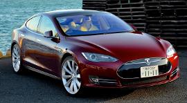 Das (noch) nicht selbstfahrende Auto: Tesla Model S