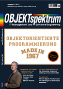 Fachartikel in OS 01/2017: Happy Birthday, OO!